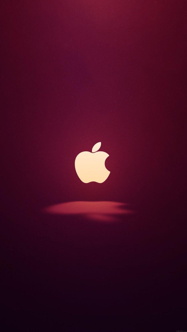 Wine Red Iphone Wallpaper Logo Apple Logo Wallpaper Iphone Apple Wallpaper