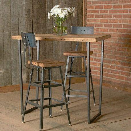 El mueble de moda: mesas altas en tu hogar | Sillas altas ...