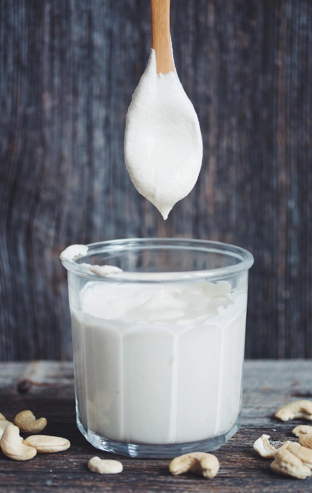 Cashew Sour Cream Hot For Food By Lauren Toyota Recipe In 2020 Cashew Sour Cream Vegan Sour Cream Vegan Condiments