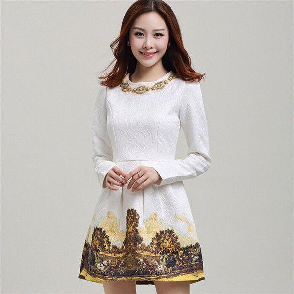 Vestido blanco 2 piezas