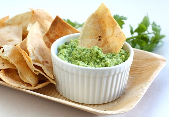 """Edamame Guacamole - I made a version of this, but I used a whole """"Steam In Bag"""" of edamame, cooled it, and blended it in a food processor with 2 ripe avocadoes and a package of dry Ranch mix. YUM!"""