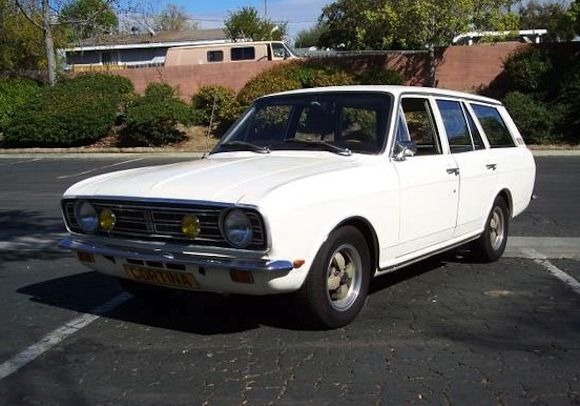 V8 Swapped 1969 Ford Cortina Mk2 Estate Ford Old Fords Classic