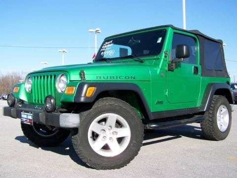 Jolly Rancher Green Jeep Rubicon Ugh Some Day Green Jeep Lime Green Jeep Pink Jeep