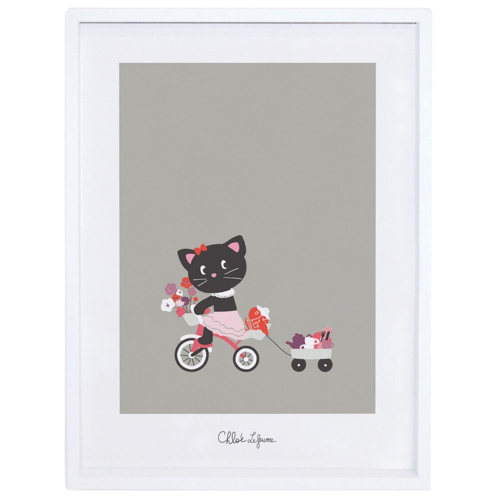 Poster Encadr Une Belle Journ E By Chloe Lefeuvre (30