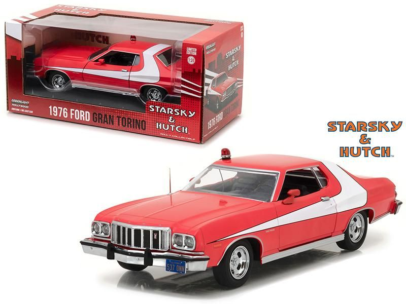 1976 Ford Gran Torino From 1975 1979 Tv Series 1 24 Diecast Model