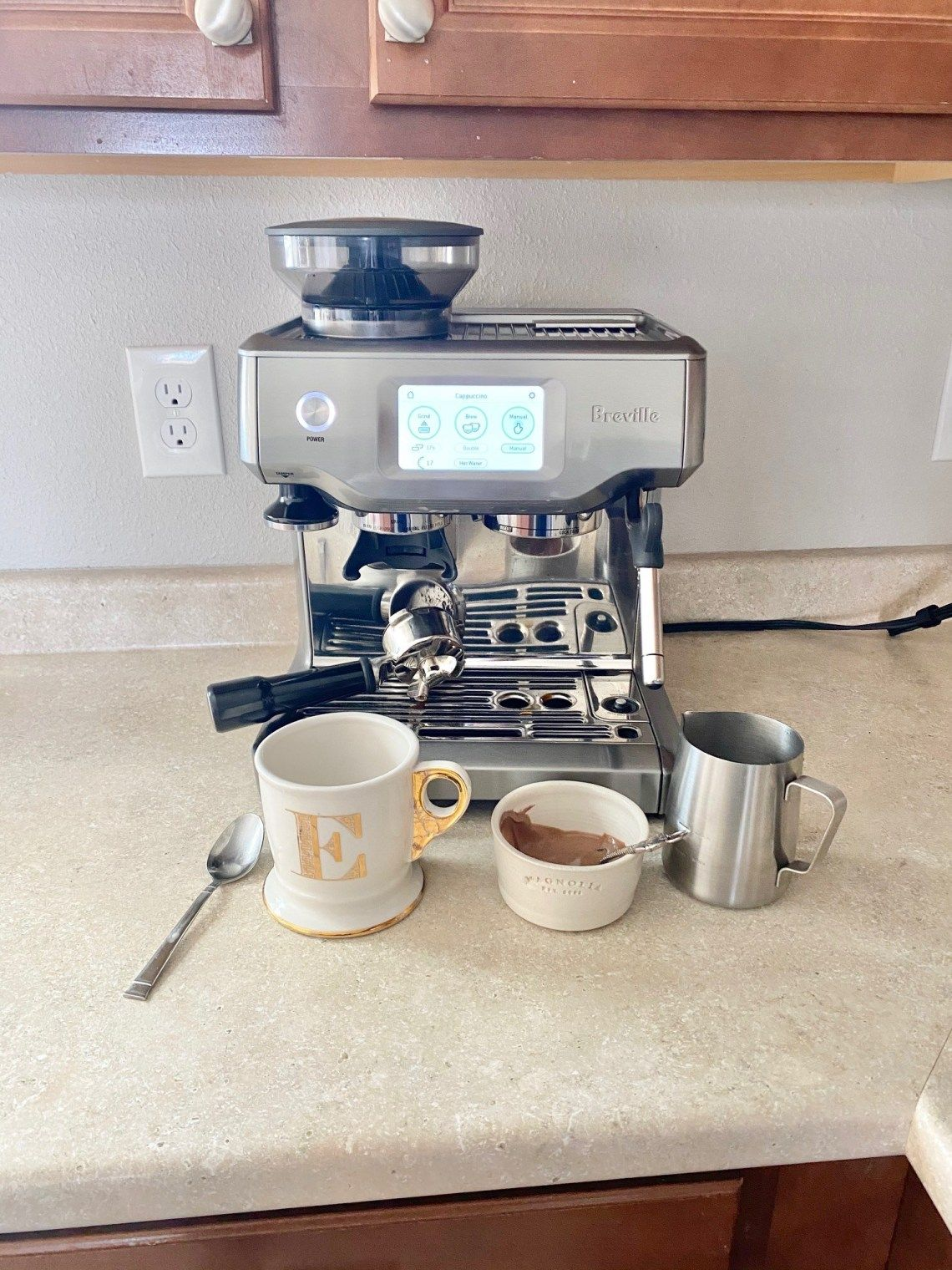 Breville Espresso Maker & Vegan Creamer Recipes House