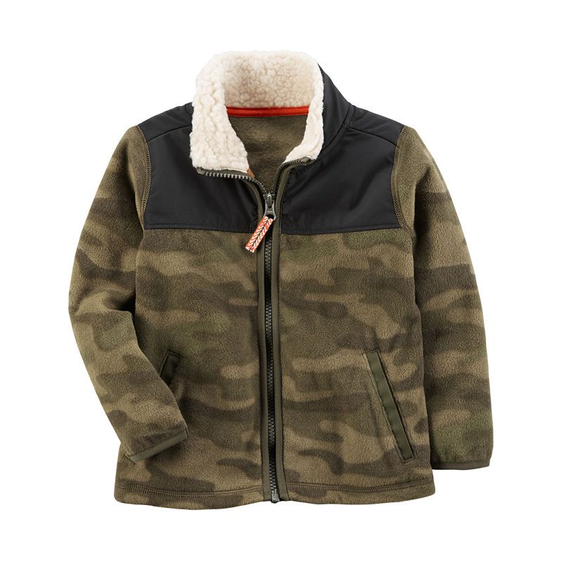 35786bee18ed Carter s Lightweight Fleece Jacket-Baby Boys