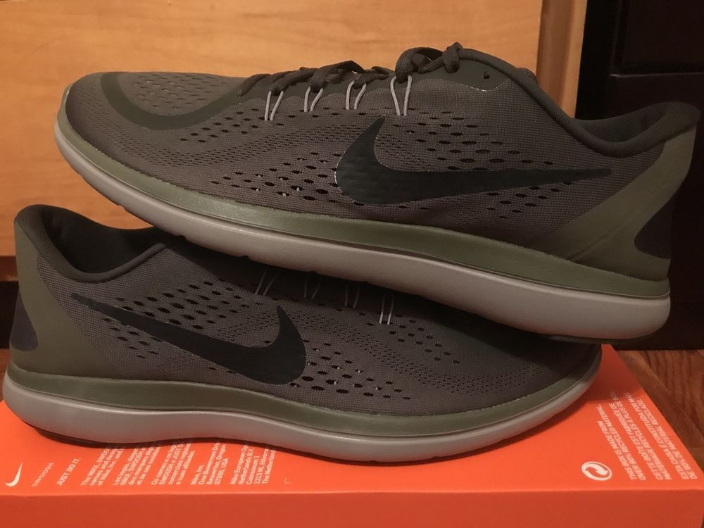 e505461c72a0 Nike Flex 2017 Rn Running Shoes Mens Size 15 Black Olive 898457 300 Rare   fashion  clothing  shoes  accessories  mensshoes  athleticshoes  ad (ebay  link)