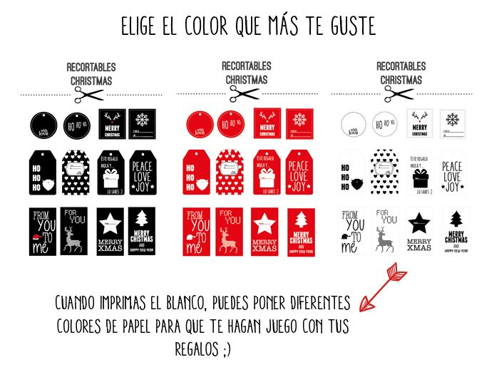 Imprimibles Navidad | Imprimibles Recortables | Pinterest ...