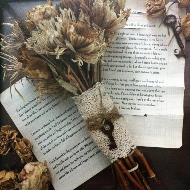 Words You Treasure - I consider our vows a huge part of the foundation our marriage stands on. They aren't just words, they are much more special than that. After they were shared, my husband and I started a new journey together. It only seemed right to preserve them forever.