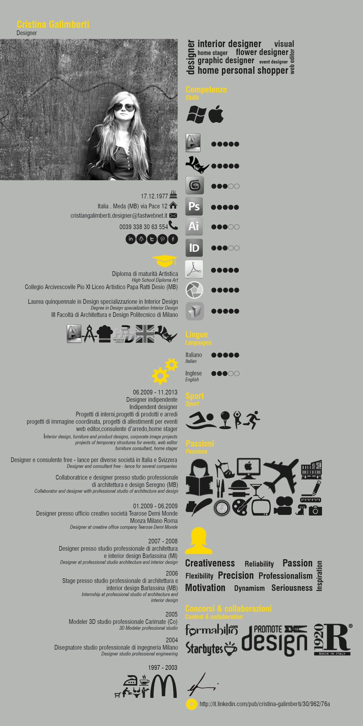 want to have your own cool infographic resume go to http