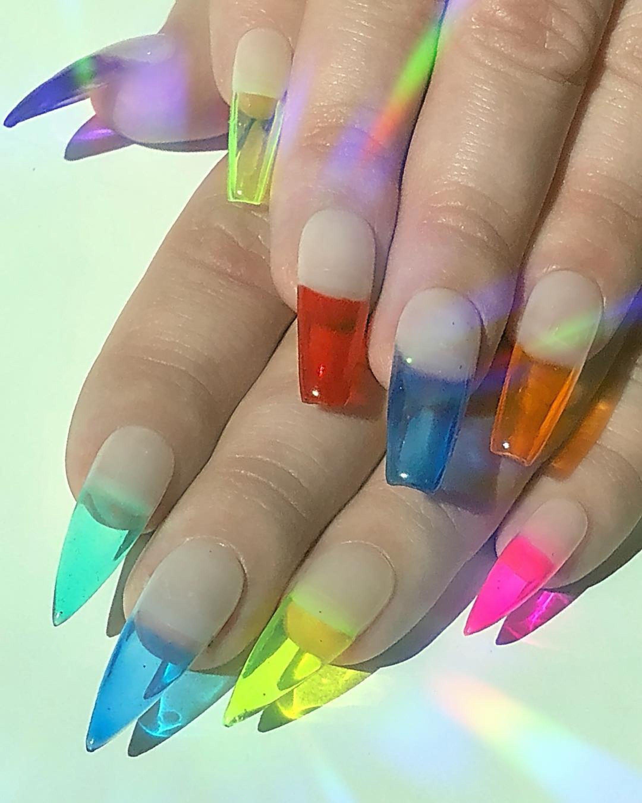 Цвет ногтей психология цвета