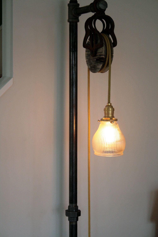 Vintage industrial floor lamp 34500 via etsy ideas to lights vintage industrial floor lamp 34500 via etsy aloadofball Image collections