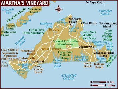 Marthas Vineyard Ma Map Of Martha S Vineyard Massachusetts New