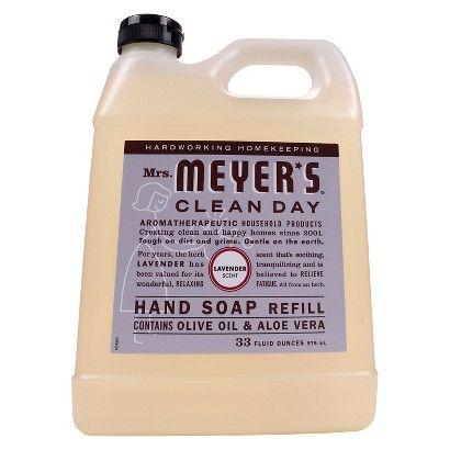 TARGET: Mrs. Meyer's Hand Soap Refill Lavender 33floz