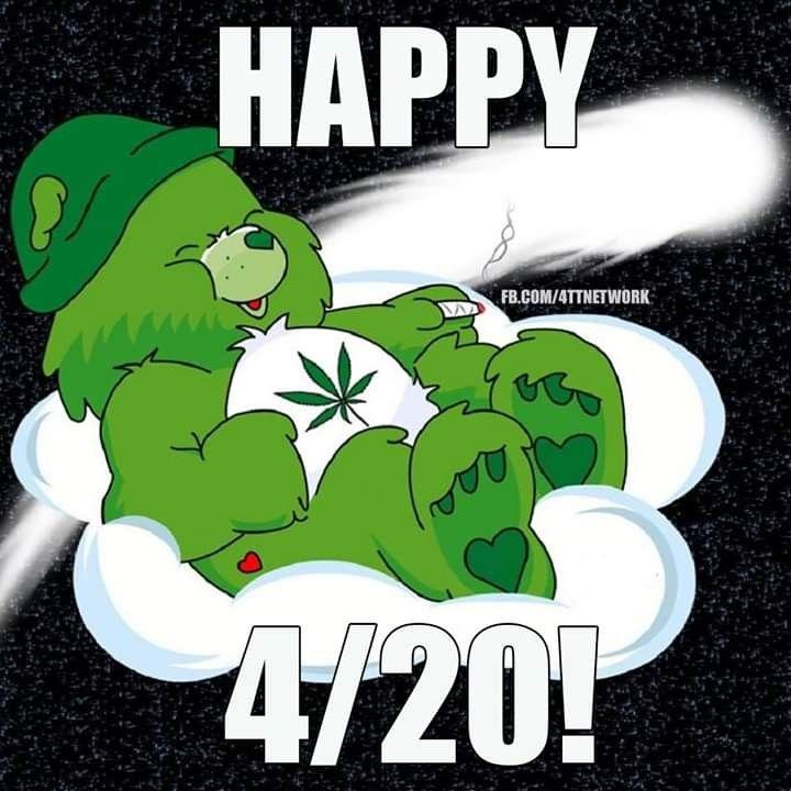 Pin by Josi Lin on holiday loves | Happy 420, Care bear ...