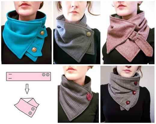 8d54e52e10e Molde para hacer una bufanda de tela para dama Ideas de Manualidades ...