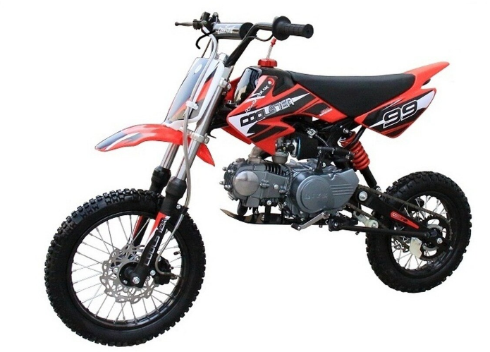 4Stroke, AirCooled Single Cylinder in 2020 Pit bike