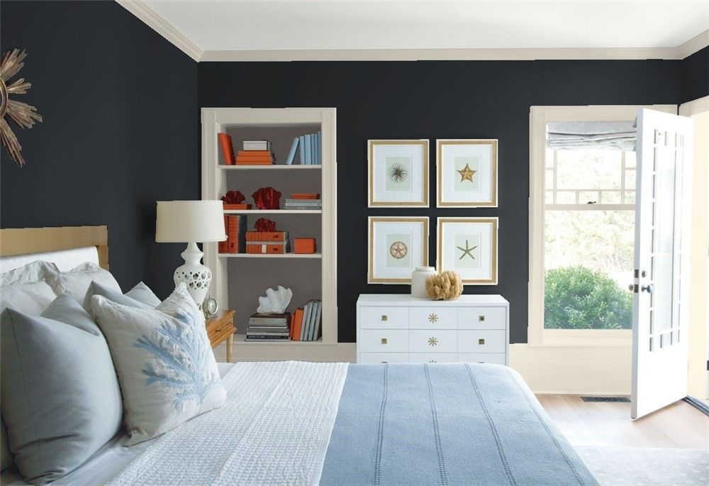 bedroom 1  wall color combination trending paint colors