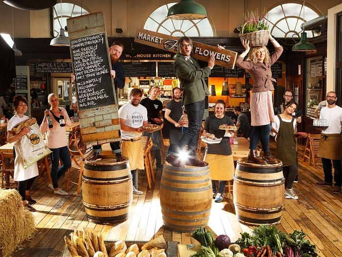 Observer Food Monthly Awards 2015 The Winners In Pictures Altrincham Marketing Indoor Markets