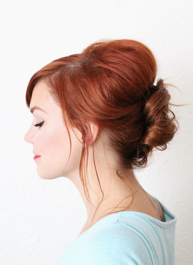 Image result for french twist hairstyle low curly buns pinterest