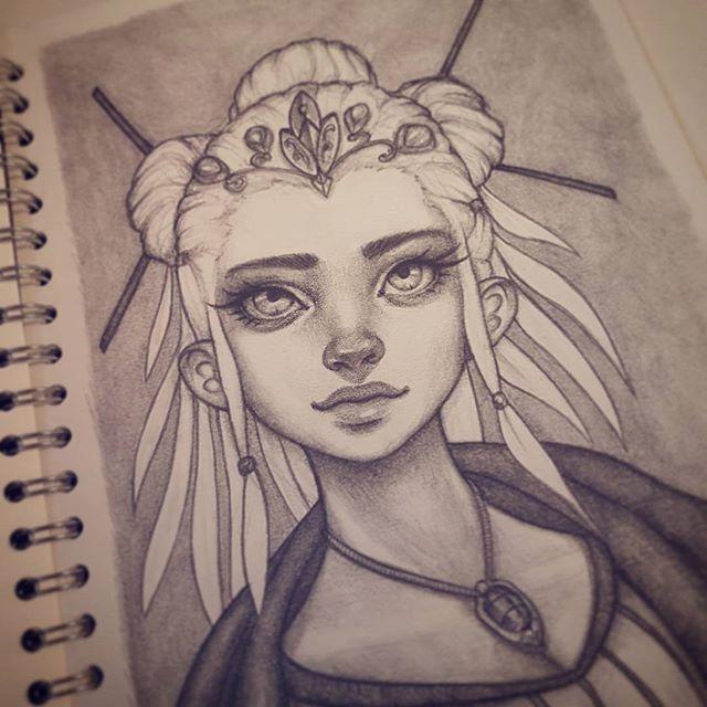 Personnages fantastique femme dessins personnages - Modele dessin personnage ...
