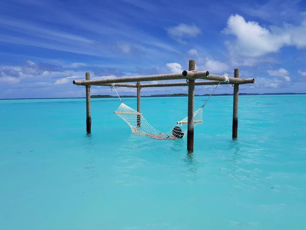 Destination : Paradise || Status : Arrived ...