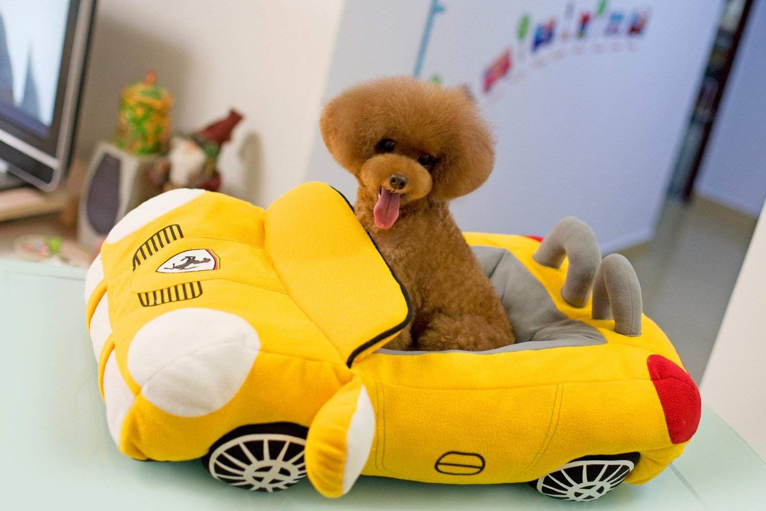 Pet dog Puppy Soft Large Cool Sport Convertible Car Design