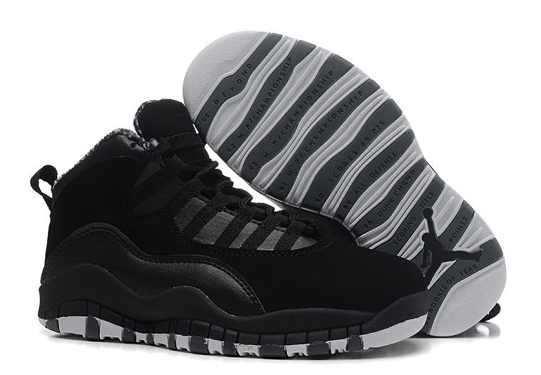 competitive price 9c74f 89c73 Air Jordan 10 (X) Retro Black White-Stealth Jordan 10, Jordan Retro