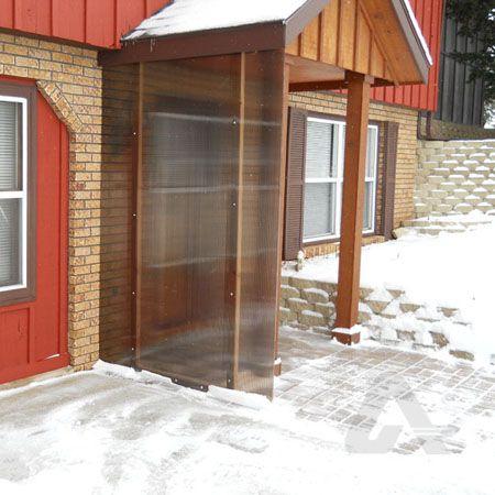 Polycarbonate Wind Break Wind Break Carport Designs Shed Floor Plans