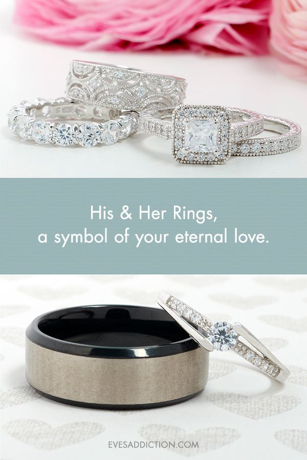 Select A Symbol Of Your Love And Commitment With Eves Addictions