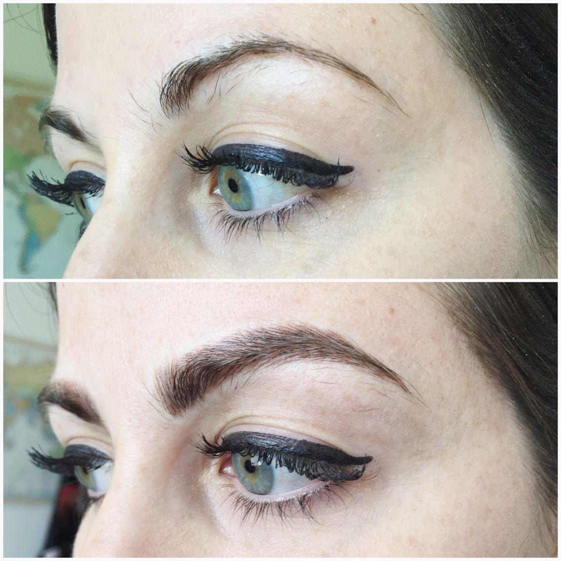84e85bd048cd I got my eye brows tattooed by  AudreyLGlass and they are PERFECT ...
