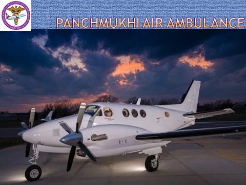 Panchmukhi Air Ambulance providing in Ranchi the aircraft