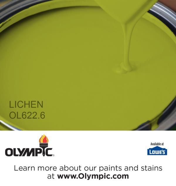 LICHEN OL622.6 is a part of the greens collection by Olympic® Paint.
