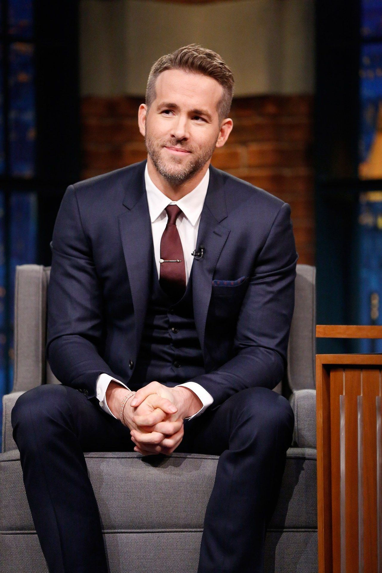suit and tie | the dapper gentleman | pinterest | ryan reynolds