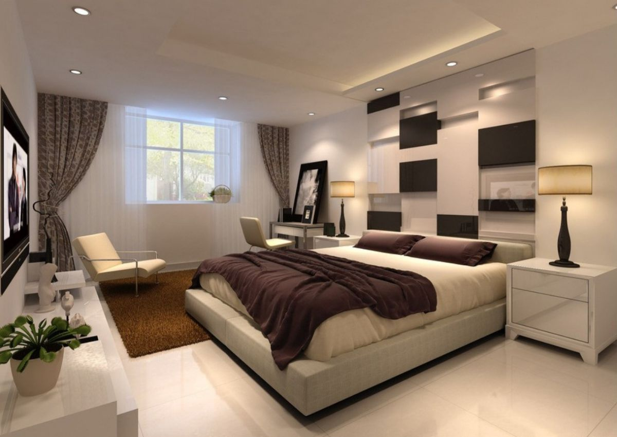 Romantic master bedroom decorating ideas for married for Couple bedroom furniture