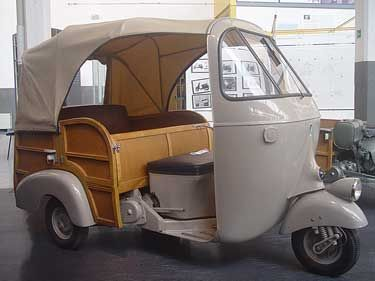 1956 ape ac calessino | best ape car | pinterest | vespa ape