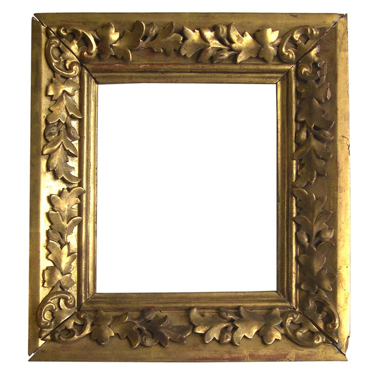 Russian 19 th c Wood Carved and Gilded Frame | Frames | Pinterest ...