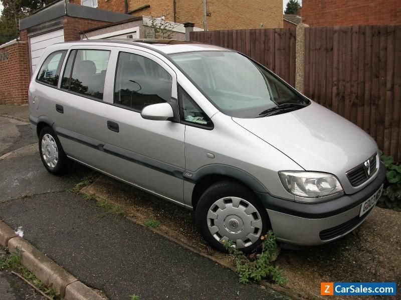 2003 Vauxhall Zafira 16v Club Auto Silver Vauxhall Zafira16vclubauto Forsale Unitedkingdom Cars For Sale Vauxhall Motorcycles For Sale