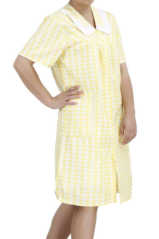 EZI Women\'s Duster5 Short Sleeve Cotton House Dress * New ...