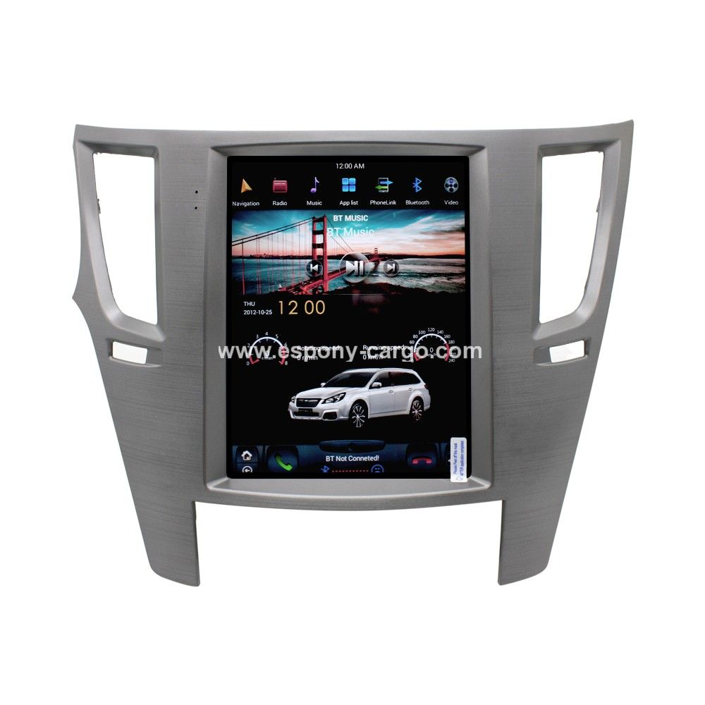 10 4'' Tesla Style Vertical HD Screen Android 6 0 Car GPS