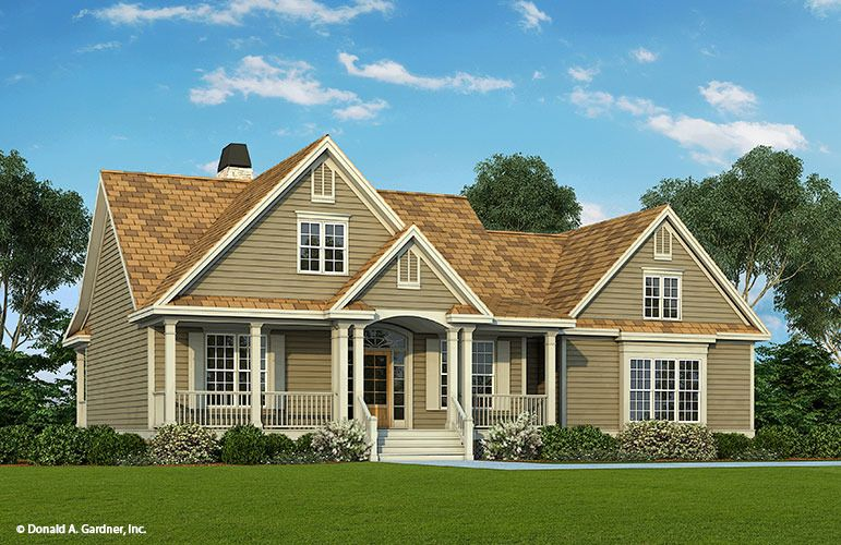House Plan The Hazelwood By Donald A Gardner Architects Country Style House Plans Traditional House Plans Ranch House Plans