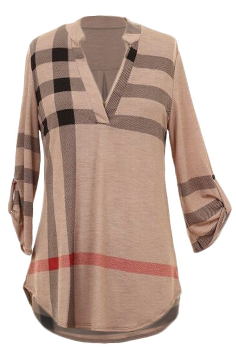 Cute plaid tunic.  Would look sweet with leggings and boots