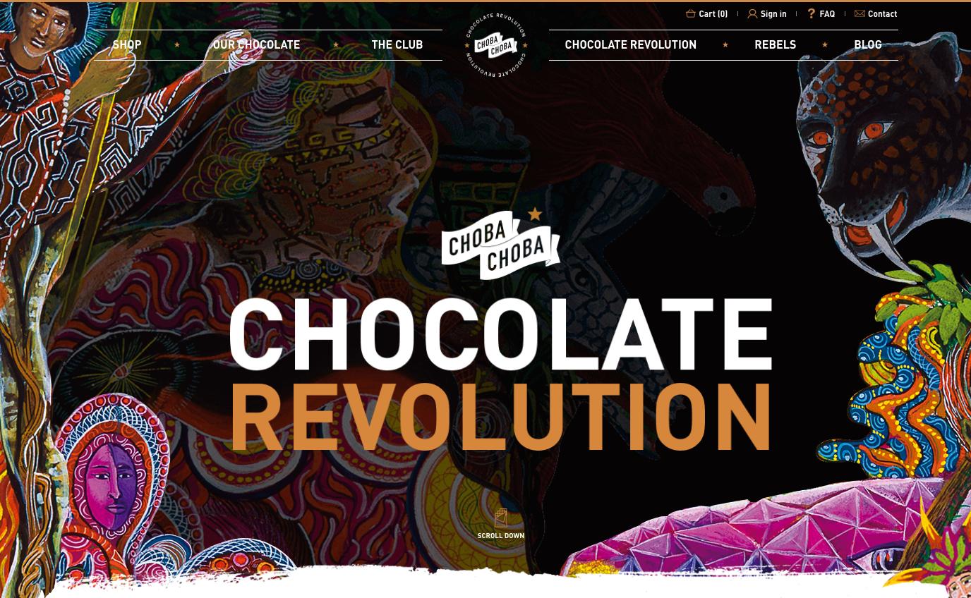 Découvrez le #SiteWeb sur mesure de #ChobaChoba développé par notre #AgenceDigitale ! http://www2.toopixel.swiss/s/VJVWh #Chocolat #Webdesign #EcommerceWebsite #FairTrade