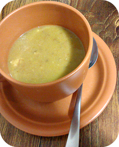 Receita deliciosa de Caldo de Ervilha