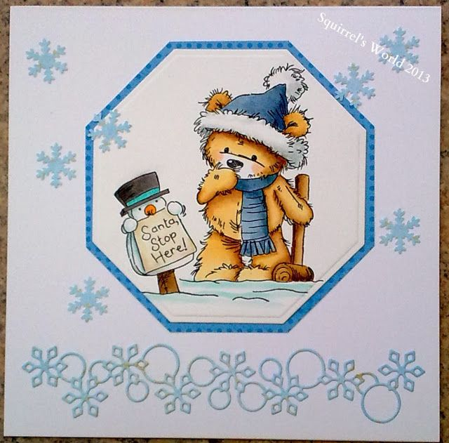 Squirrel's World: Crafty Little Fairies (DT) Let It Snow
