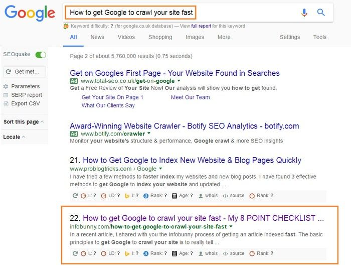 f81eba3d488aa14a7169c6588ef0ed76 - How To Get Google To Crawl My Site Faster