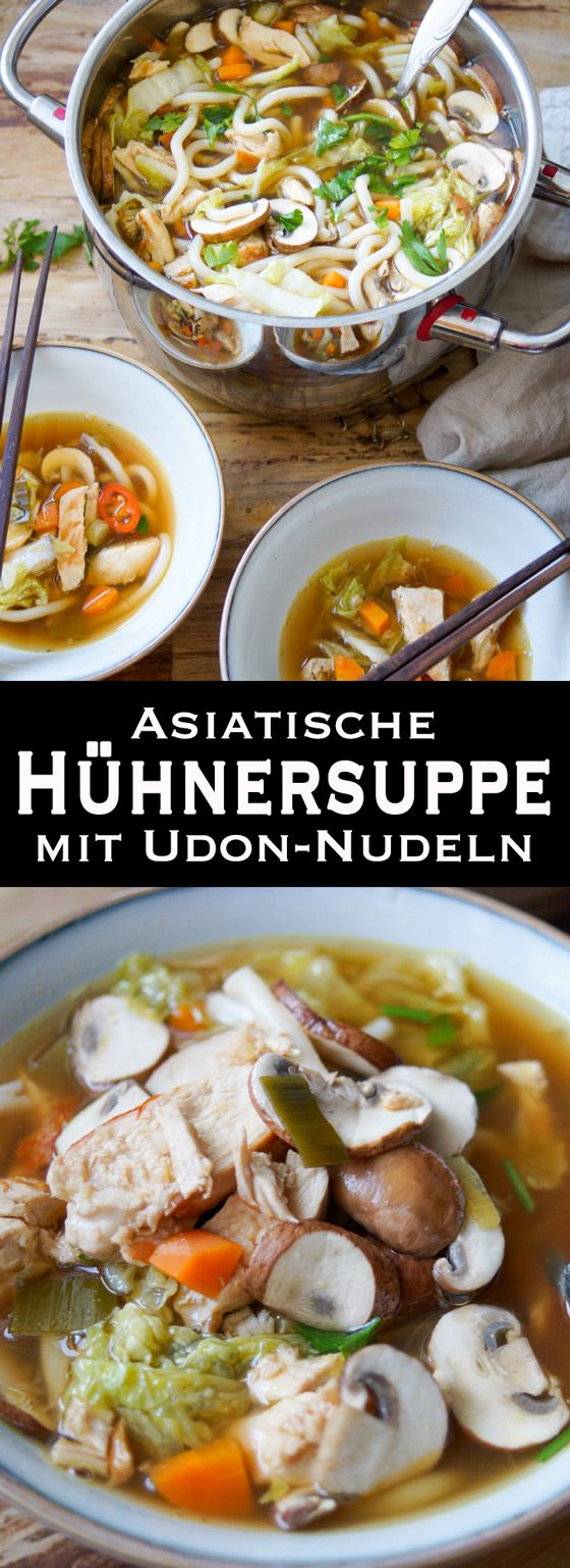 Photo of A powerful soup full of Asian flavors. Quickly made, tasty and sweet …