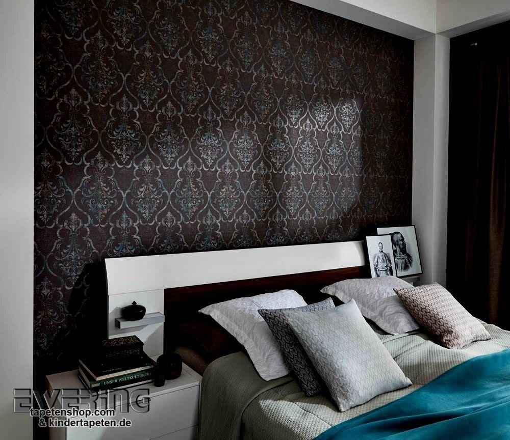 architektur tapeten schlafzimmer altbau einrichten