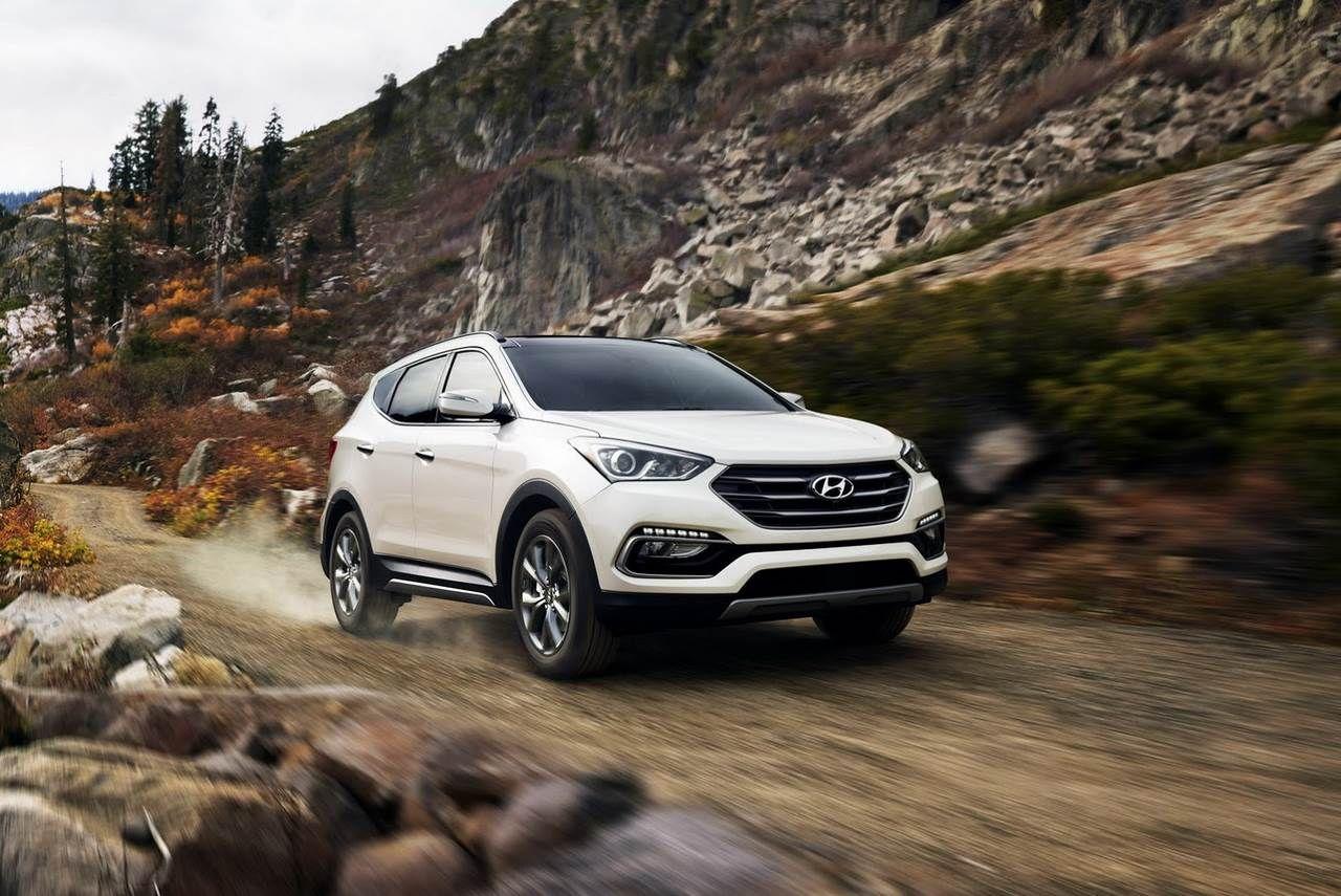 2017 Hyundai Santa Fe launched in US Hyundai santa fe
